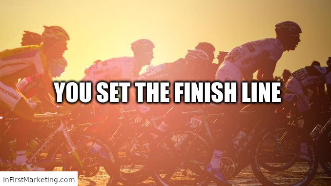 Success: You Set the Finish Line